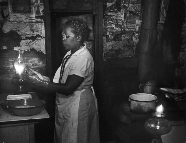 Layering in Photography - Eugene Smith