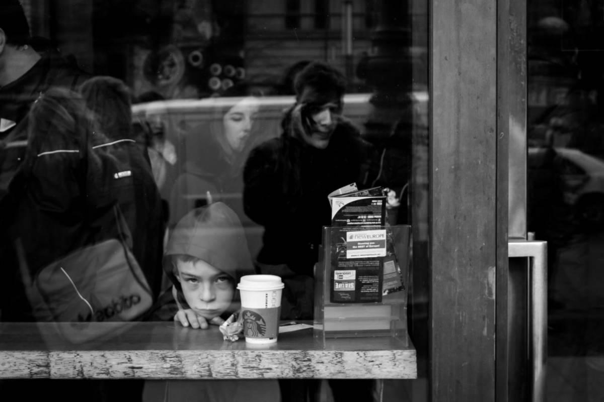 Inside Starbucks - Berlin