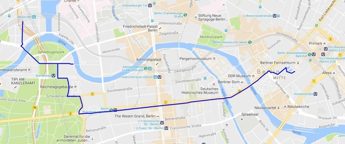Berlin Guide - Map