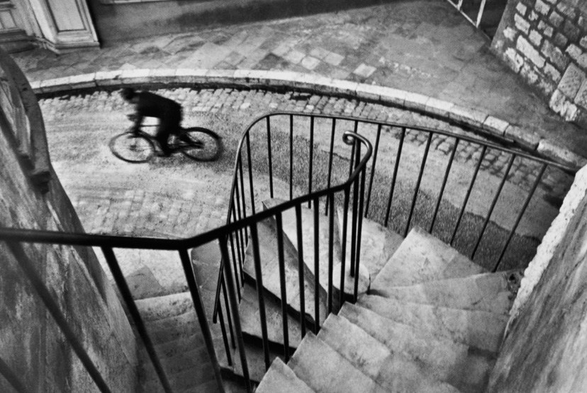 Henri Cartier-Bresson - Bike