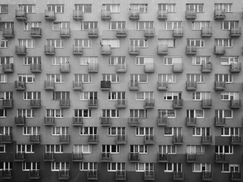Urban Photography - Black & White windows