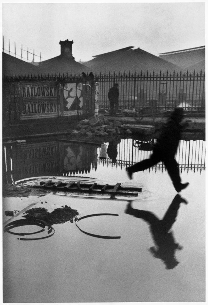 Henri Cartier-Bresson - Jump