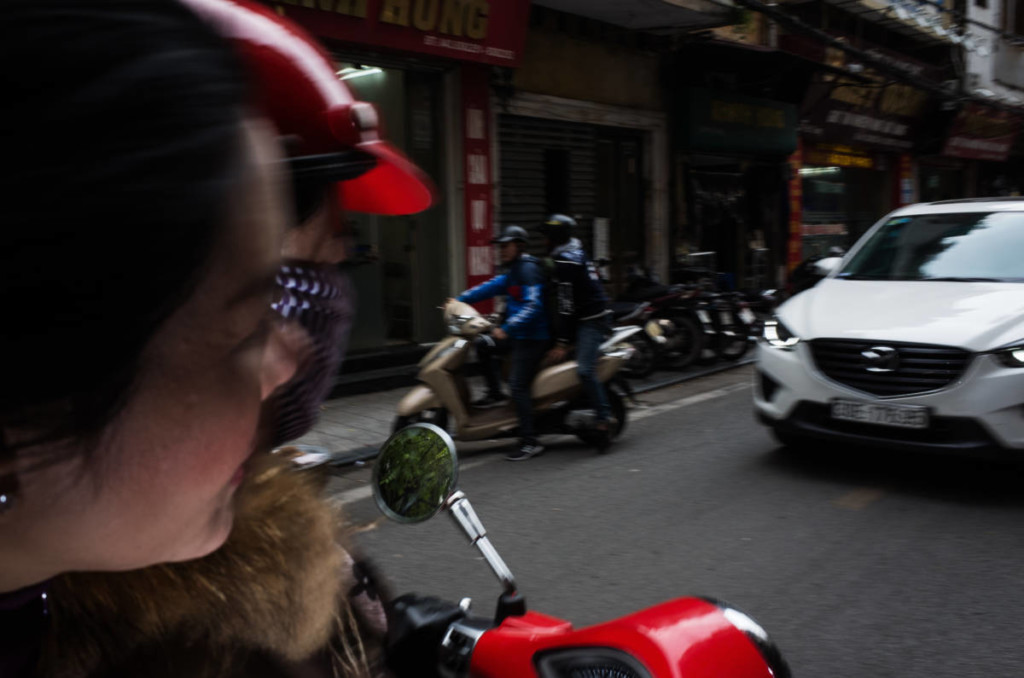 Street Photography in Hanoi - Motorbikes