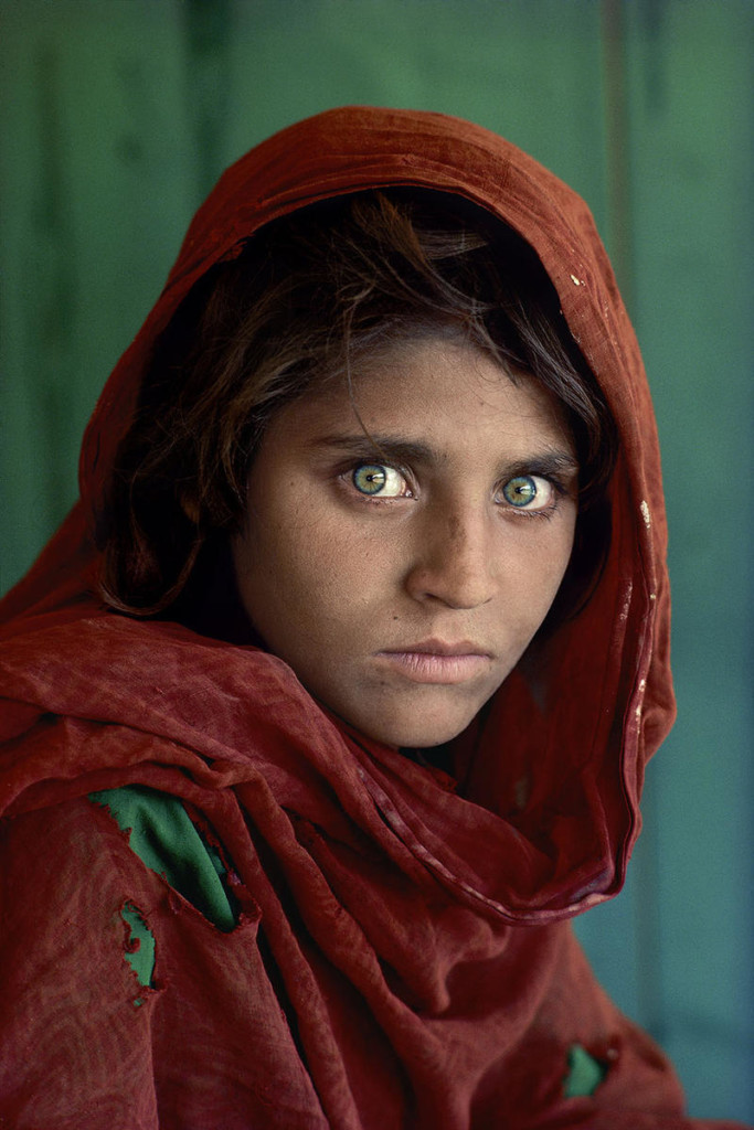 Afghan Girl - Rule of Thirds