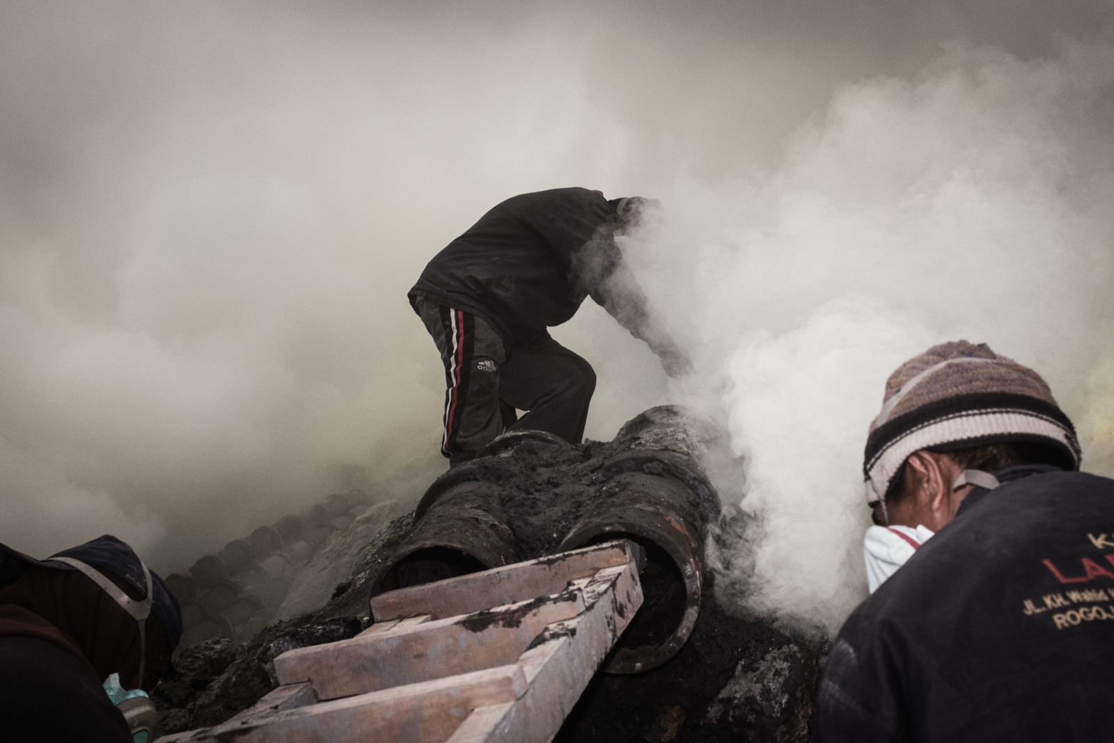 Documentary Photography - Sulfur Miners