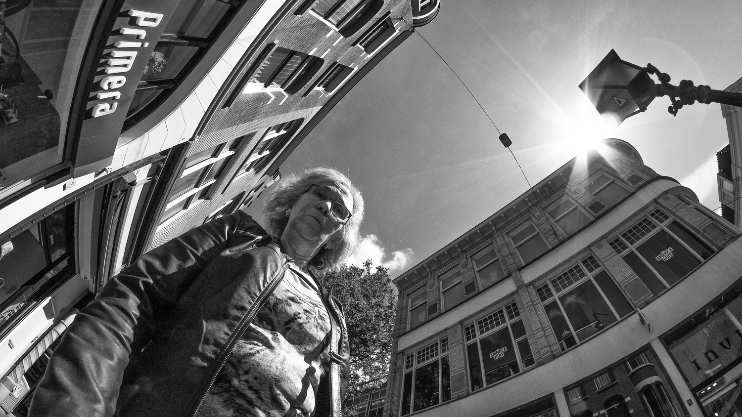 35mm in Street Photography - The Fisheye
