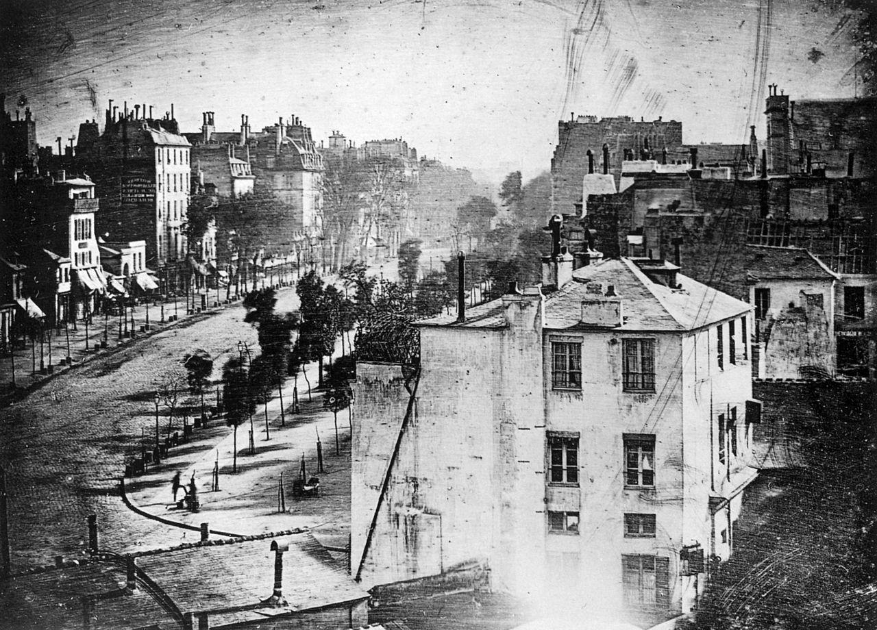 Daguerre Vintage Photograph