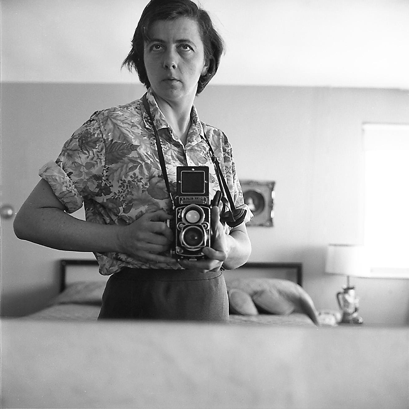 Vivian Maier Rolleiflex Camera