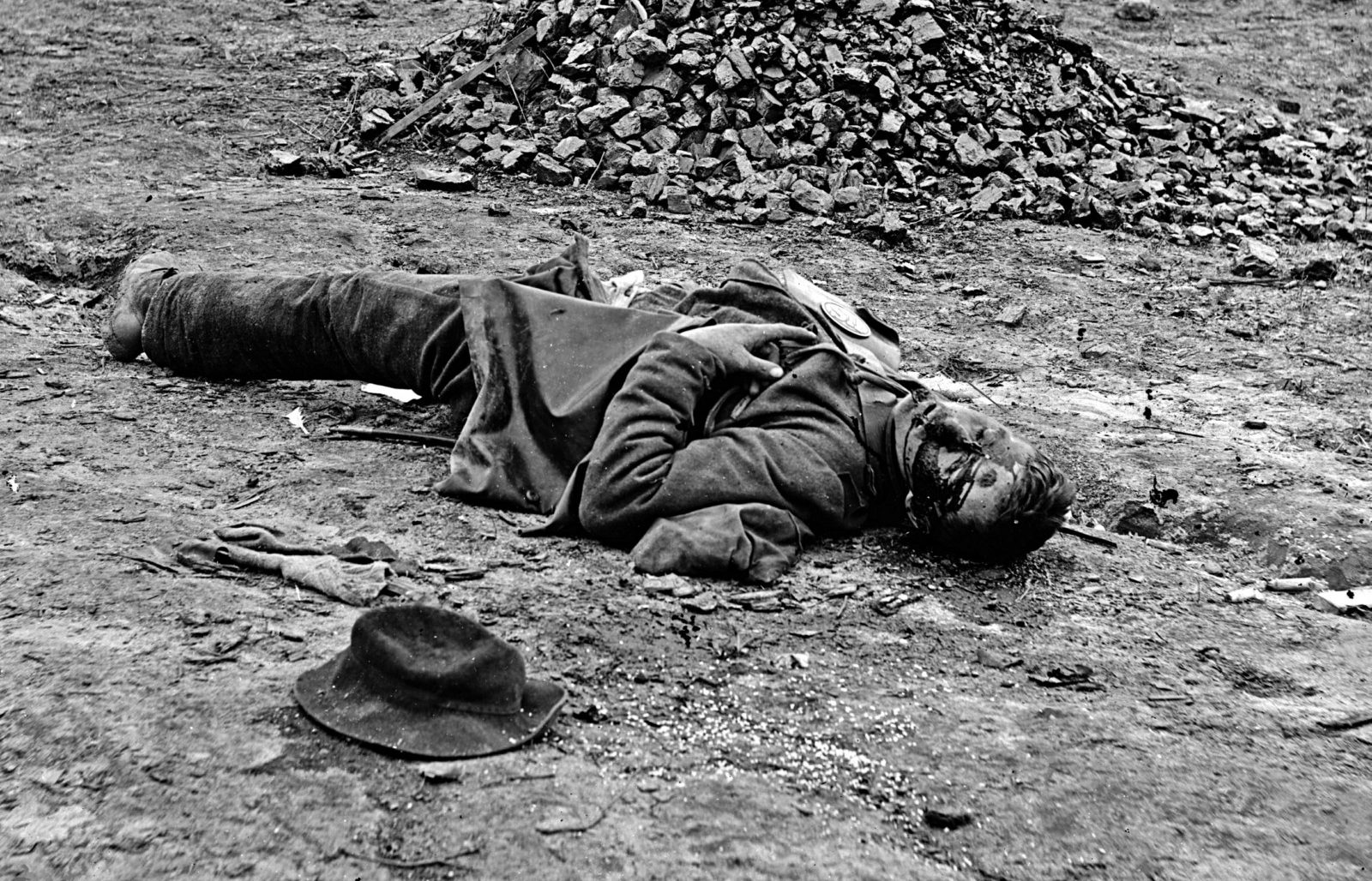 Dead Soldier American Civil War