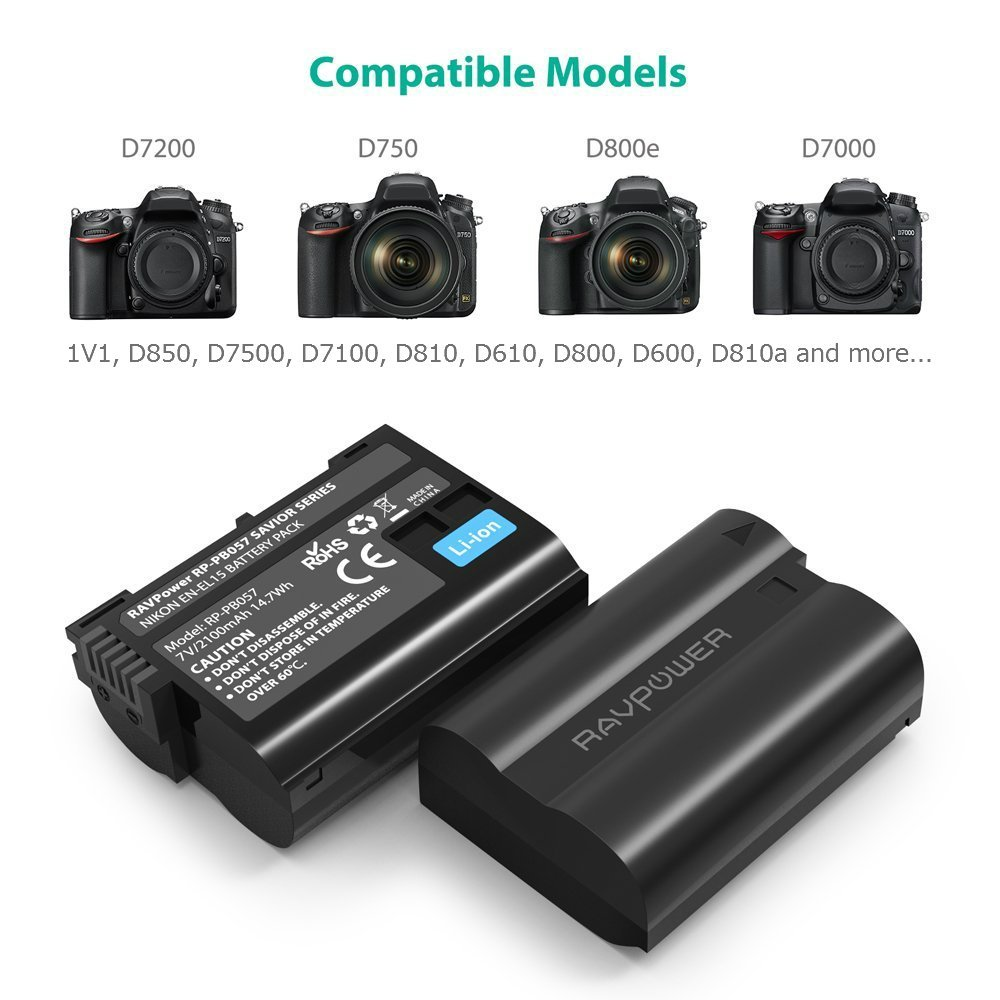Nikon Batteries - Gift for Photographers