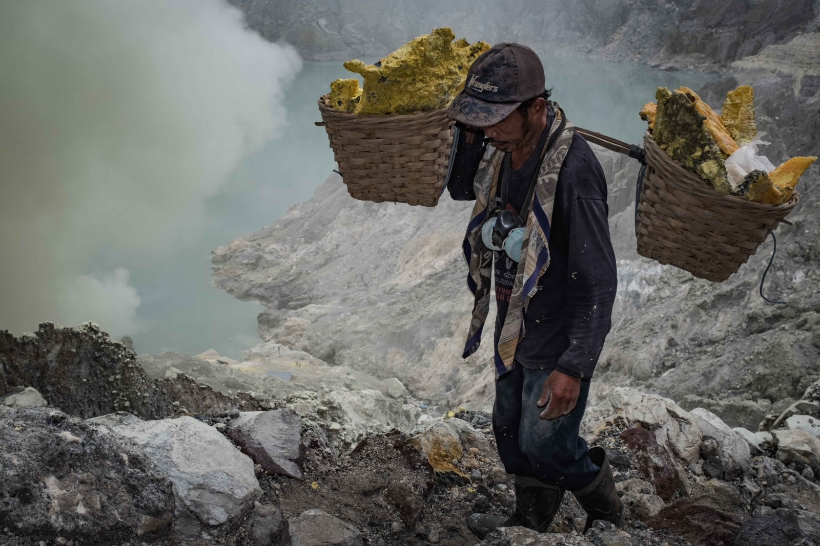 Photojournalist Mount Ijen Miner