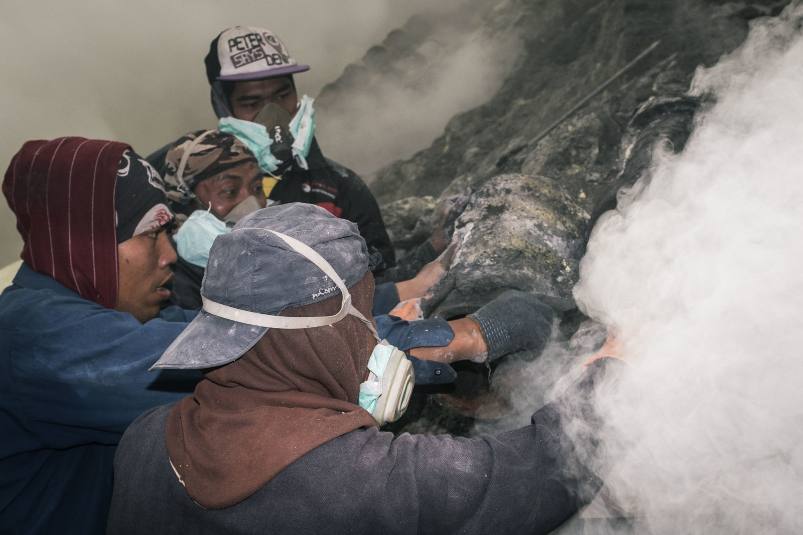 Photojournalist Mount Ijen Sulfur