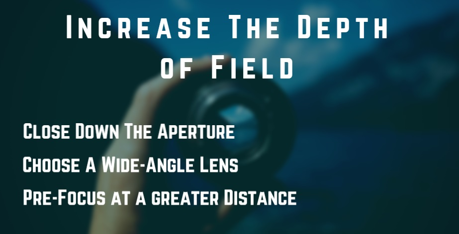 Depth of Field in Zone Focusing