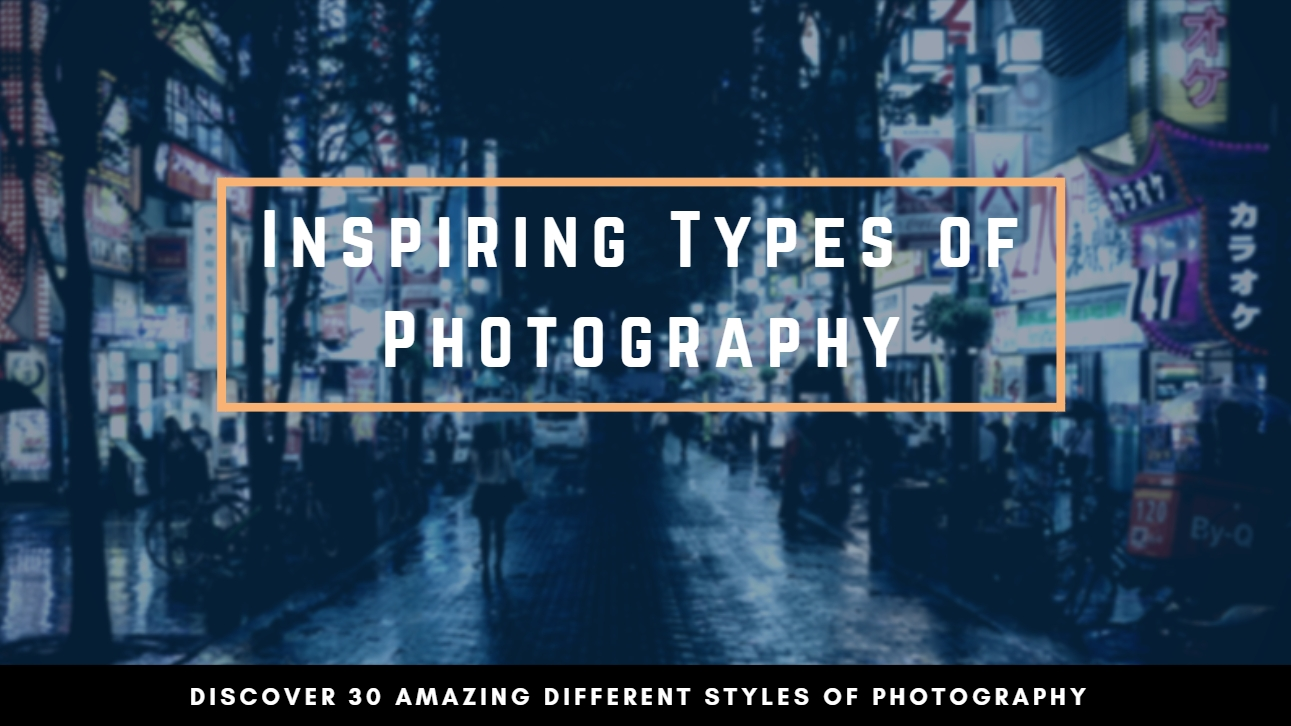 types of photography