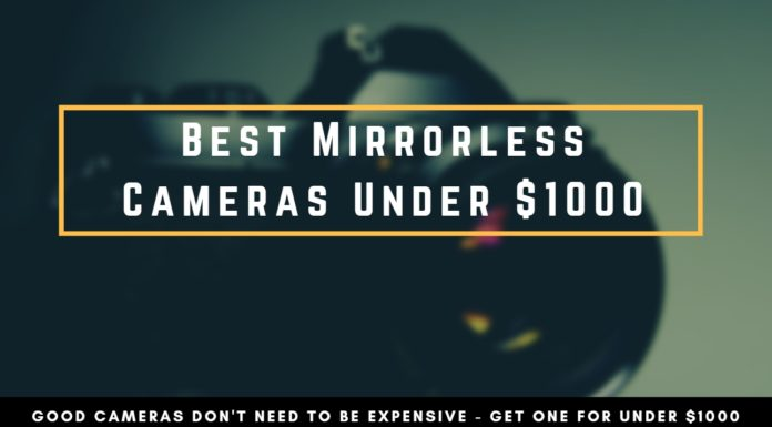Best Mirrorless Cameras under 1000