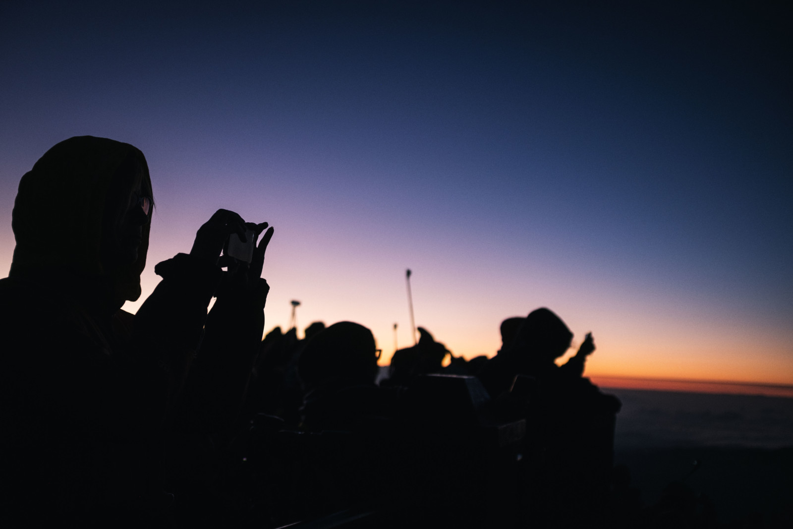 Bromo - Silhouette Photography