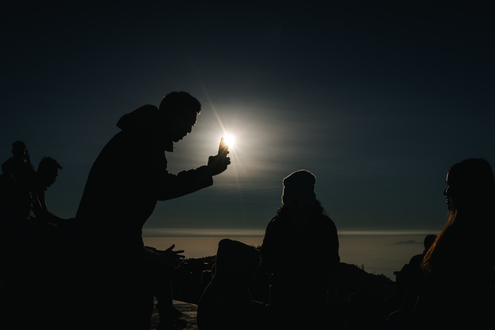 Silhouette Photography - Bromo