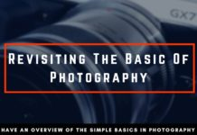 Revisiting the Basics in Photography