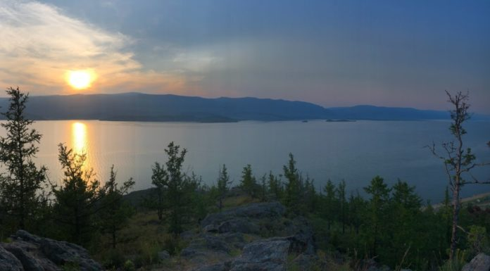Photographing Baikal