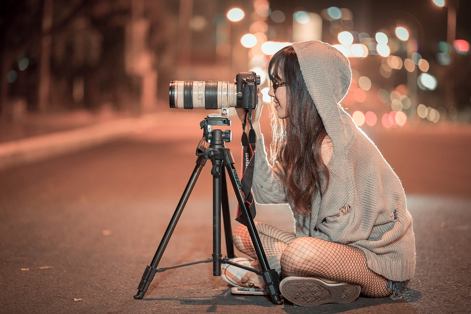 Ночь, Камеры, Фотограф, Фото, Фотография